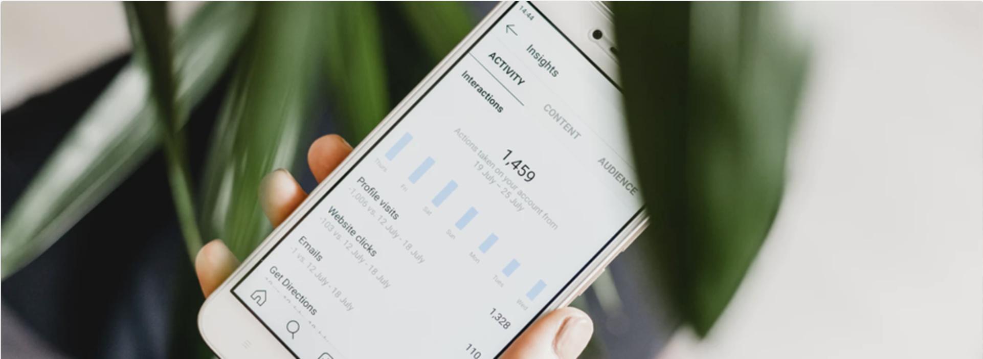 Inzicht Instagram-bedrijfsprofiel