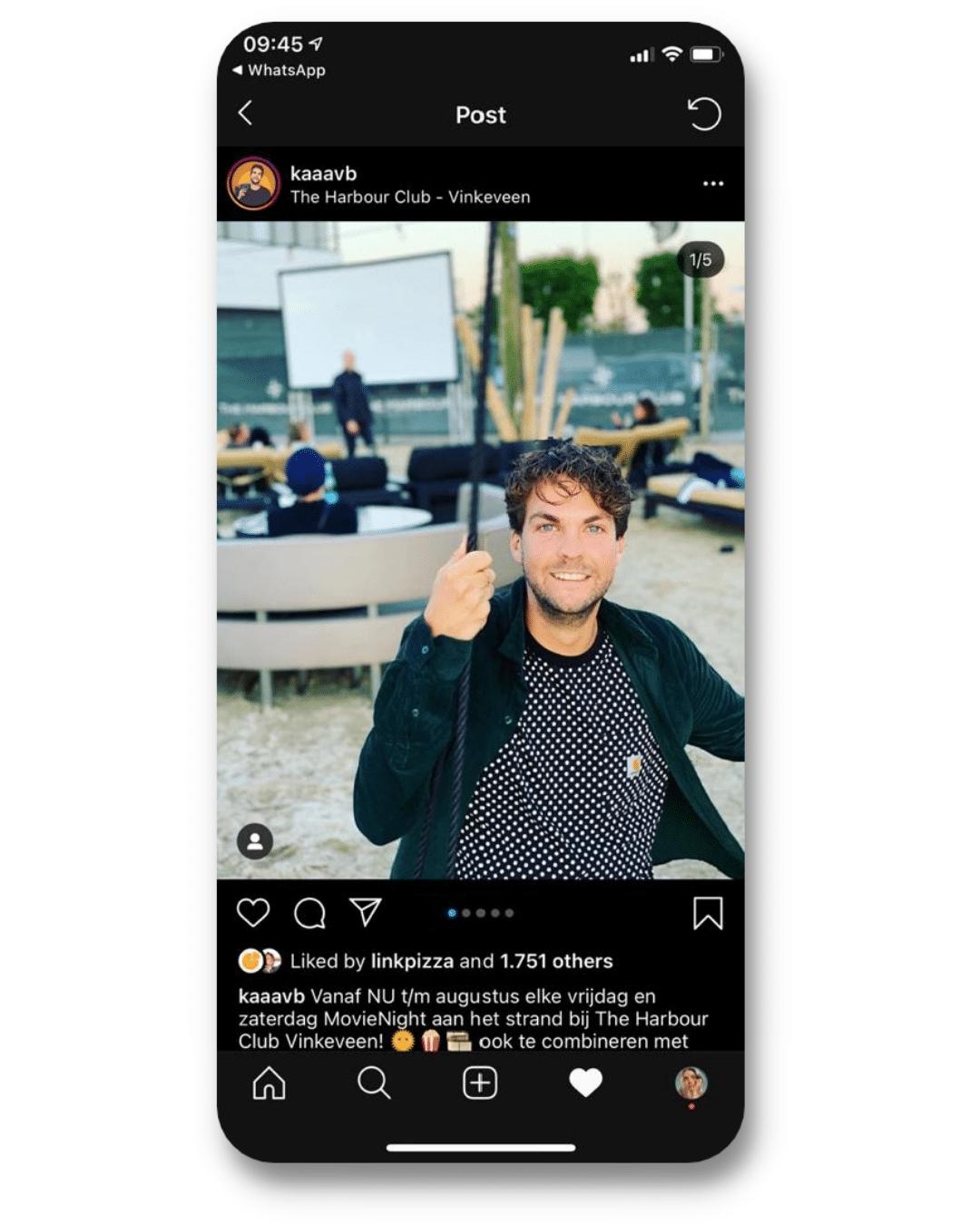Instagram influencers the Harbourclub