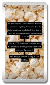Influencer marketing instagram popcorn