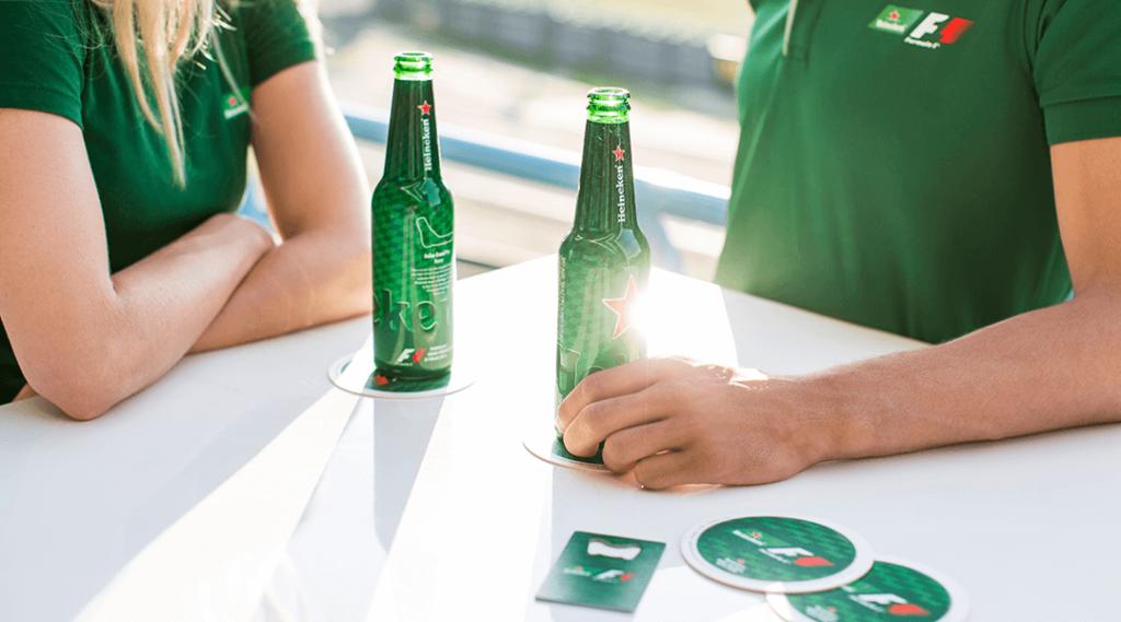 Heineken case campaign