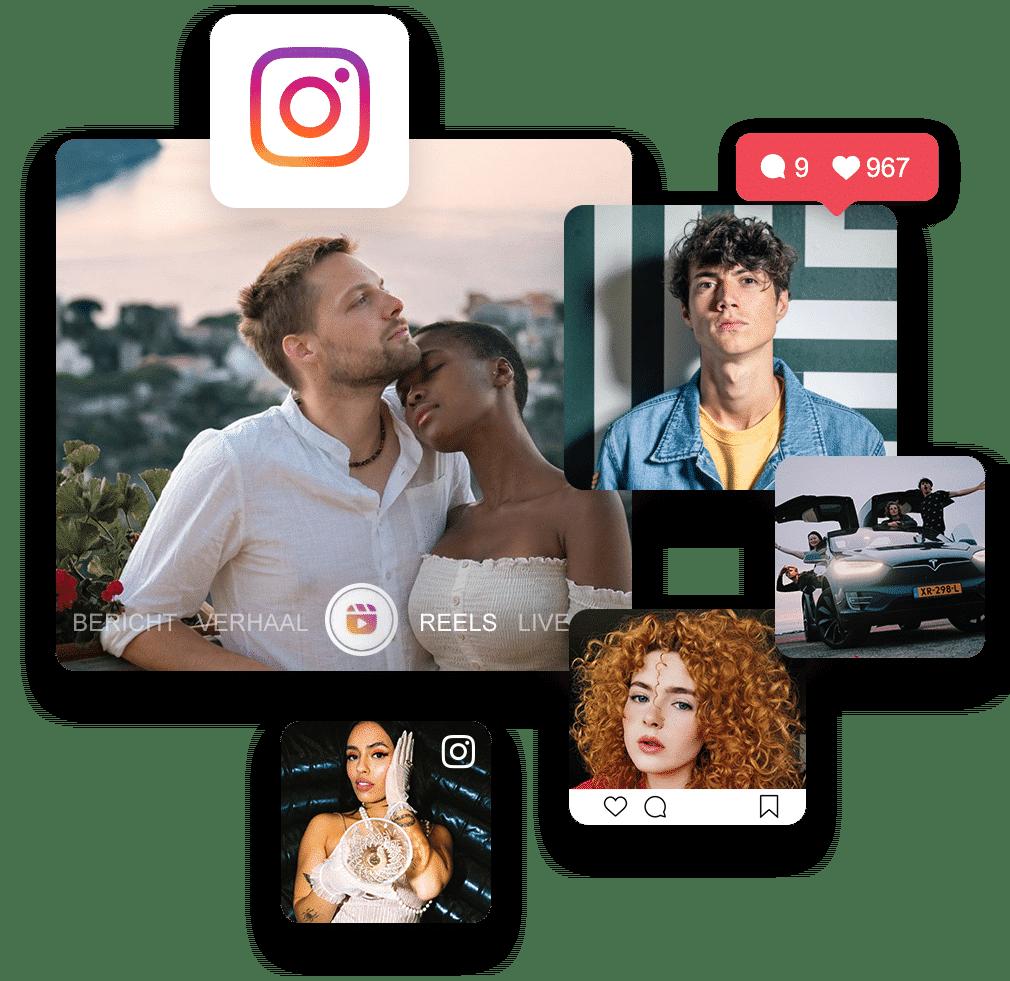 Visual Instagram influencers
