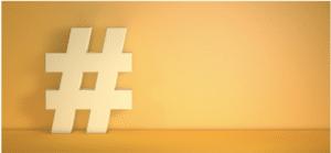 Hashtag voor Instagram