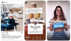 Instagram voorbeelden LinkPizza
