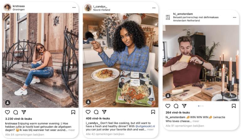 Instagram review win actie LinkPizza