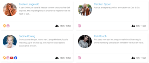 Instagram influencers LinkPizza