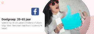 Facebook doelgroep en content