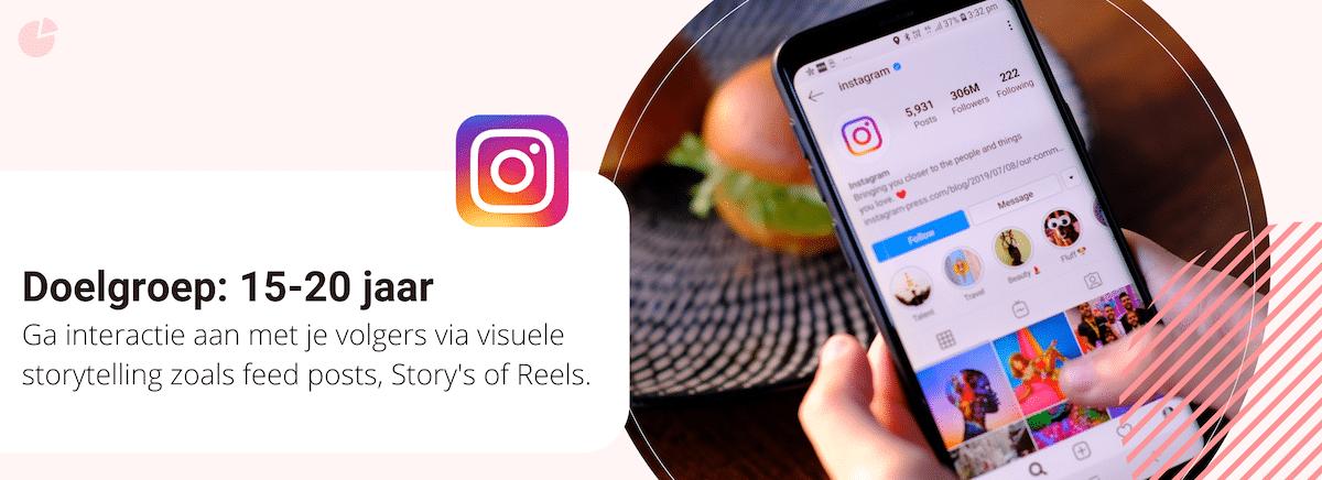 Instagram doelgroep en content