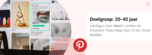 Pinterest doelgroep en content